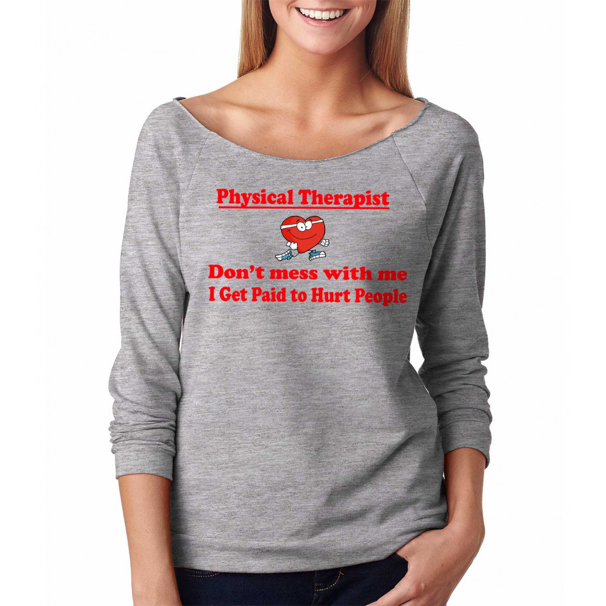 Mens Shirt Dont Mess with This Physical Therapist Tee Shirt Womens Shirt